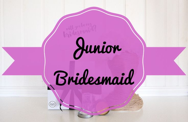 Will you be my Junior Bridesmaid Faux Flower Crown & Sash