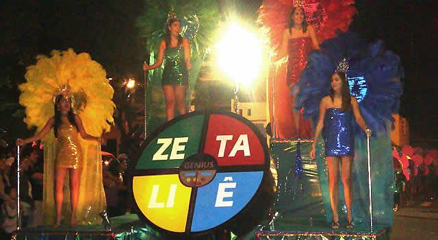 De acordo com a programação, a largada oficial para a folia acontece na Sexta Feira (13) com a Matinê nas escolas a partir das 9 horas; Às 21 horas, ensaio geral da Bateria da Escola de Samba Zetaliê e, as 23 horas, Baile do Vermelho e Branco.