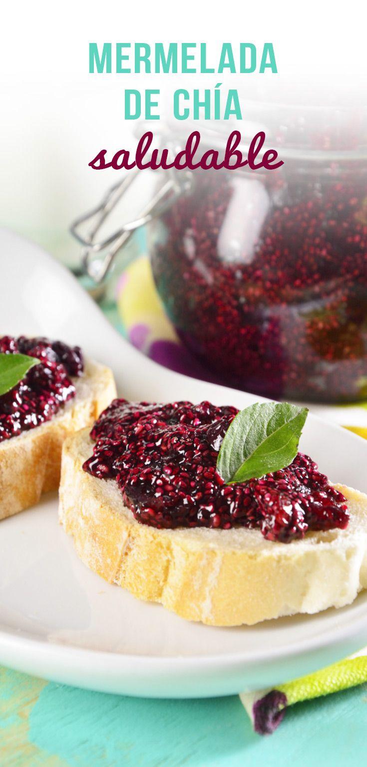 Por su gran contenido de omega 3 y antioxidantes la chía se ha convertido en uno de los alimentos favoritos de muchos, esta mermelada de frutos rojos con un toque de chía, complementará tus mañanas para un desayuno más saludable.