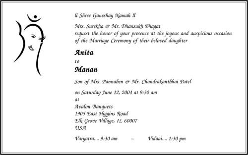 Discover Ideas About Wedding Invitation Matter Hindu Wordings