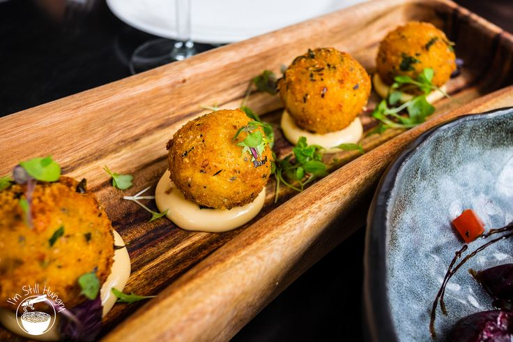 Arancini (or risotto/rice) balls @Blackbird Cafe  Darling Harbour  Im Still Hungry