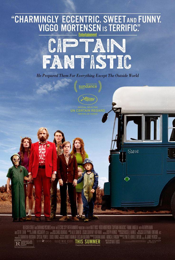 Captain Fantastic - Poster & Trailer | Portal Cinema