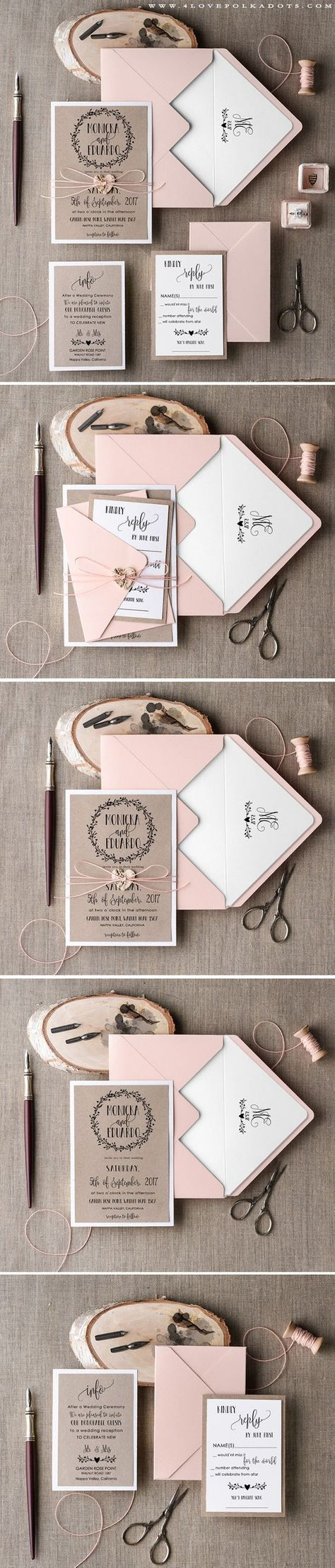 40 Creative Wedding Invitations for Every Style of Celebration