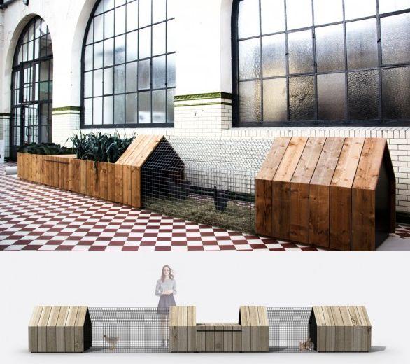 studio Segers, Daily Needs, Modular Chicken Coop & Garden, Ovam Ecodesign award, Belgique, 2013
