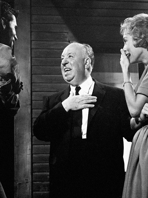 Perkinch Leigh Laughing Together On The Set Of Psycho After That Shower Scare A Good Laugh Was Needed