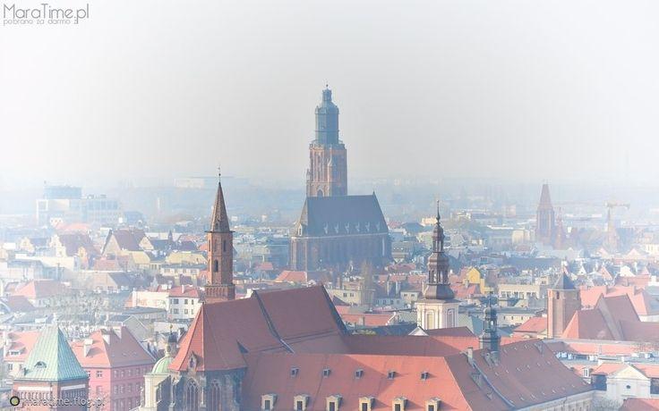 ...dachy Wrocławia...