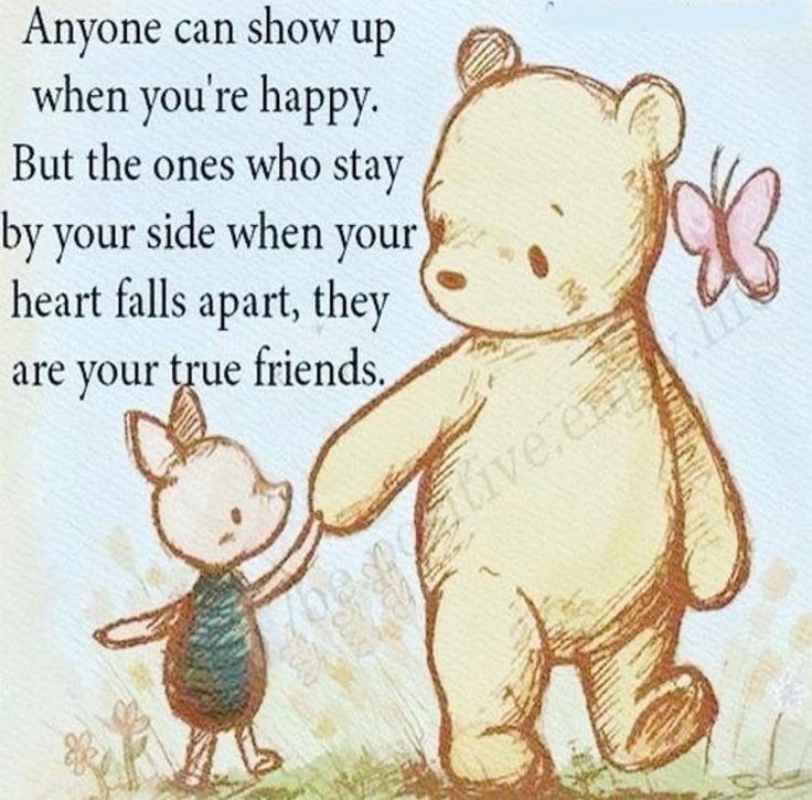 Pooh Quotes About Friendship: Pin By Emily Hunter On Friends
