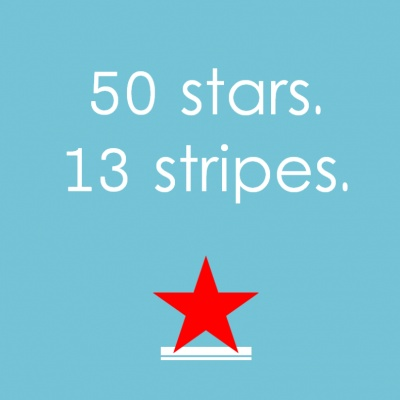 .: Fourth Of July, Colors, 13 Stripes, 4Th Of July, July 4Th, 50 Stars, Aqua Color, Free Printable, American Pies