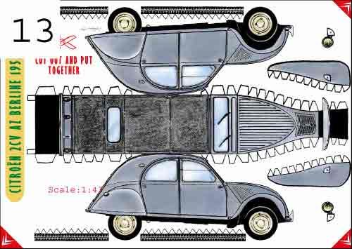 build yourself :) Citroen 2 CV