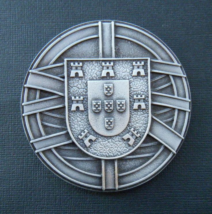 Portugal National Flag Coat of Arms Escudo Quinas Castles Cross Portuguese Republic Belt Buckle