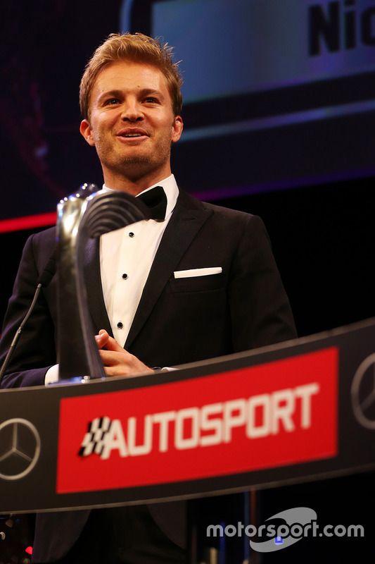 World Champion Nico Rosberg, Mercedes AMG F1,Autosport Awards