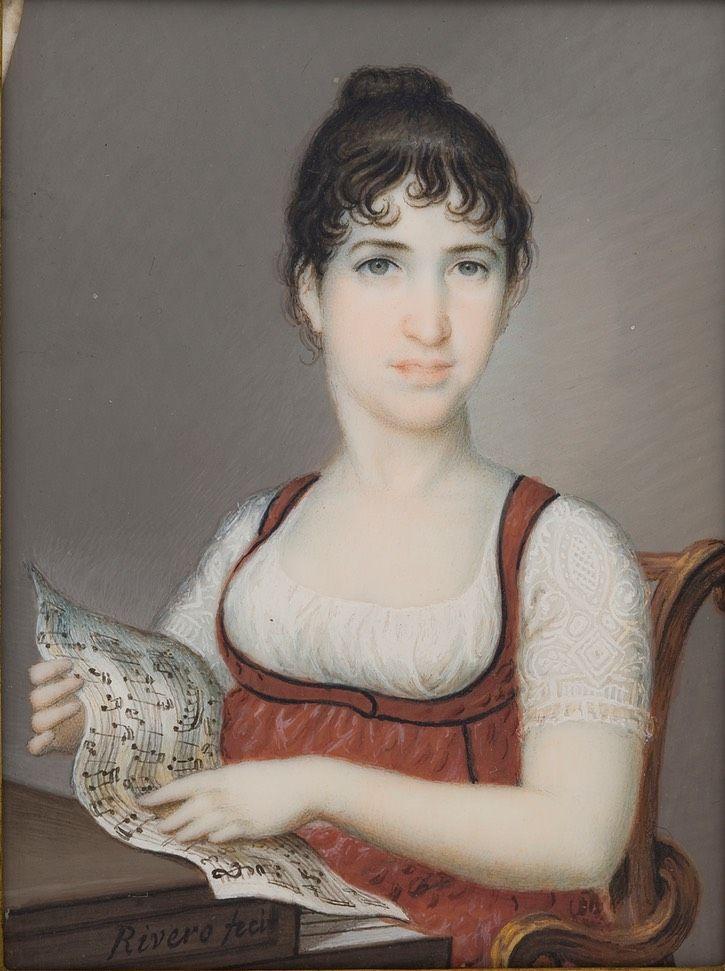 1805 María Tomasa de Palafox y Portocarrero, marquesa de Villafranca, duquesa de Medina Sidonia by José Alonso del Rivero (Museo Nacional del Prado - Madrid, Spain) AR