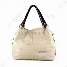 Tyylikäs PU-nahkainen käsilaukku, eri värivaihtoehtoja