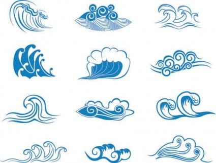 Wave vector graphic 2 Free vector in Encapsulated PostScript eps