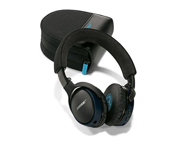 Audífonos SoundLink® Bluetooth de Bose® en color negro.