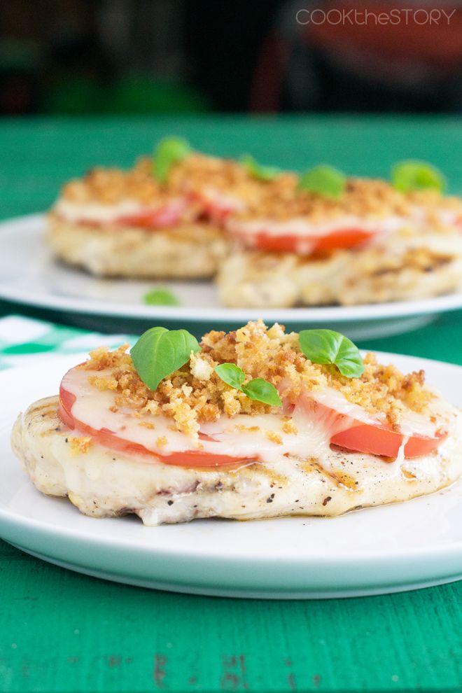 Grilled Chicken Parmesan Recipe Pinterest Chicken Parmesan