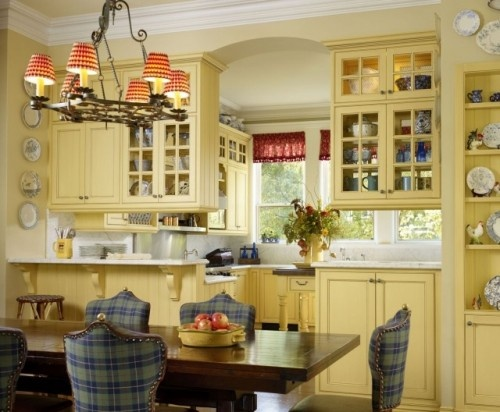 not the style, but good see through cabinetsDecor Ideas, Kitchens Design, Traditional Kitchens, Country Design, Country Decor, Breakfast Room, Kitchens Cabinets, Design Group, French Country Kitchens