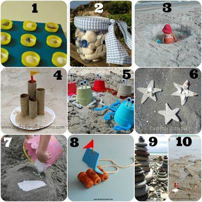lavoretti da fare in vacanza con i bambini - In spiaggia