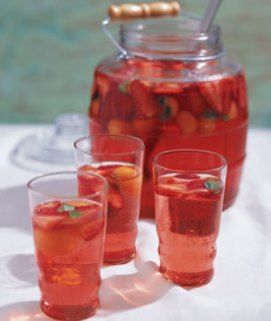 Serve a refreshing Torani Agua Fresca at your next backyard gathering. Using Torani Watermelon Syrup. More recipes at www.torani.com/recipes
