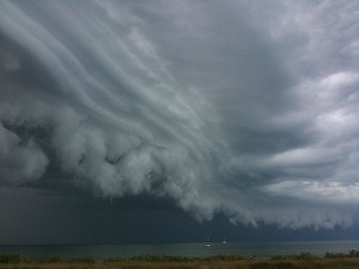 Storm approaching Portarlington on Port Phillip Bay compliments of https://flic.kr/p/8XQ58y
