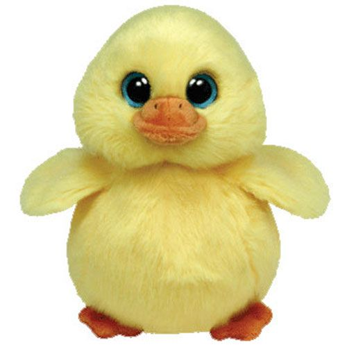 Ty Stuffed Animals | TY Beanie Baby - DUCKLING the Yellow Duck (6 inch): BBToyStore.com ...