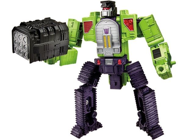 Hasbro Releases Massive 2-Foot Tall Transformers Devastator