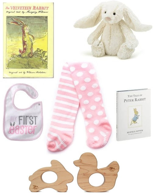 81 best gift ideas for the little ones images on pinterest baby little baby garvin babys first easter basket featuring lst negle Images