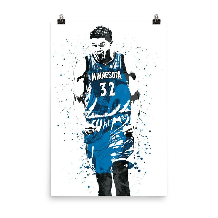 Karl-Anthony Towns Minnesota Timberwolves Poster