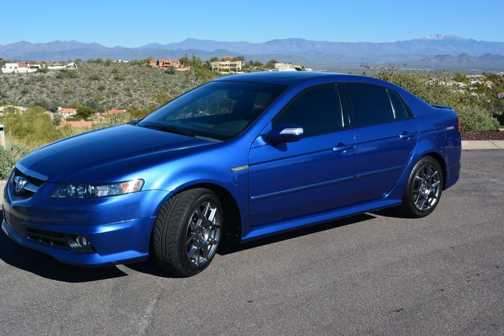 2008 Acura TL Type-S Kinetic Blue For Sale - CarGurus