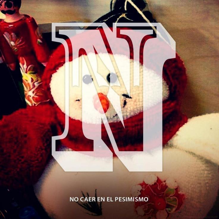 Cada imagen, una letra. Cada letra, un propósito para el 2013. #navidad