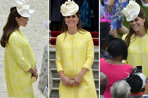 Kate Middleton at Buckingham Palace for the first Garden Party of 2013, 22 May 2013