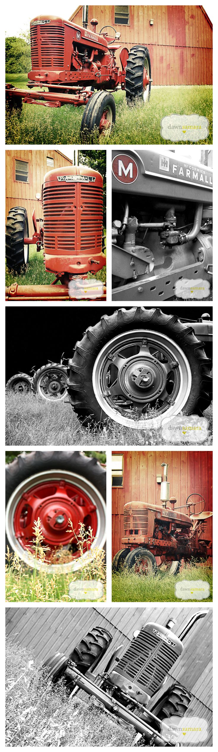 Farmall M , our FFA chapter restored 2 of these