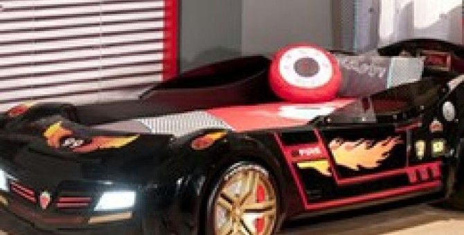 Cama coche Biturbo Biconcept negro