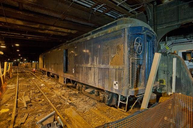 FDR's Secret Train Car & Platform: It's hidden beneath the Waldorf-Astoria in NYC & still there! (1938)