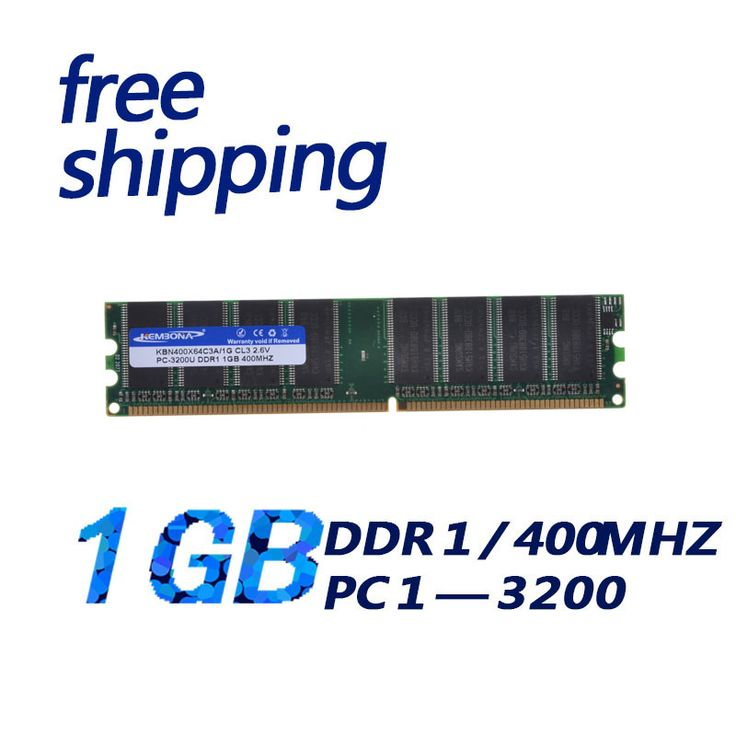 Brand New Sealed DDR 400 / PC 3200 1GB Desktop RAM Memory / can compatible with all mortherboard or amd/ Free Shipping!!!