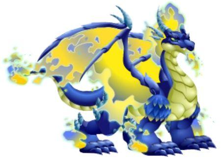 Blue Fire Dragon-----Dragon City
