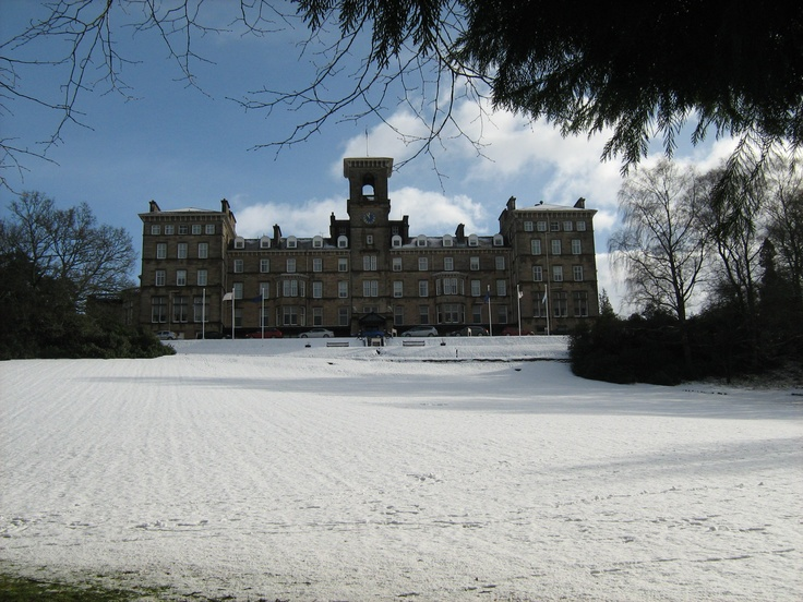 Hilton Dunblane  March 2011 looked beautiful in snow