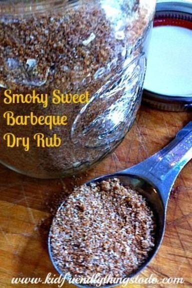 Finger Licking Good, Barbeque Rub Recipe! Rub it on anything! Instant flavor. Great for chicken, steak, & pork! Perfect for BBQ gift baskets, and Father's Day! KidFriendlyThingsToDo.com