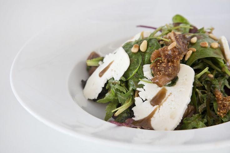 Fig Salad from Verina Hotel Menu #greeksalad #sifnos