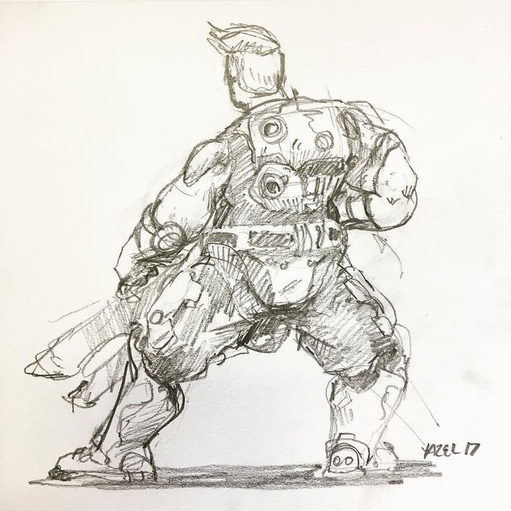 I will break you #overwatch #zarya #tank #drawing #paper #traditional #pin #sketchbook #fanart #warmup #sketch #scifi #sciencefiction #gaming