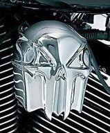 Kuryakyn Zombie Skull Horn Cover