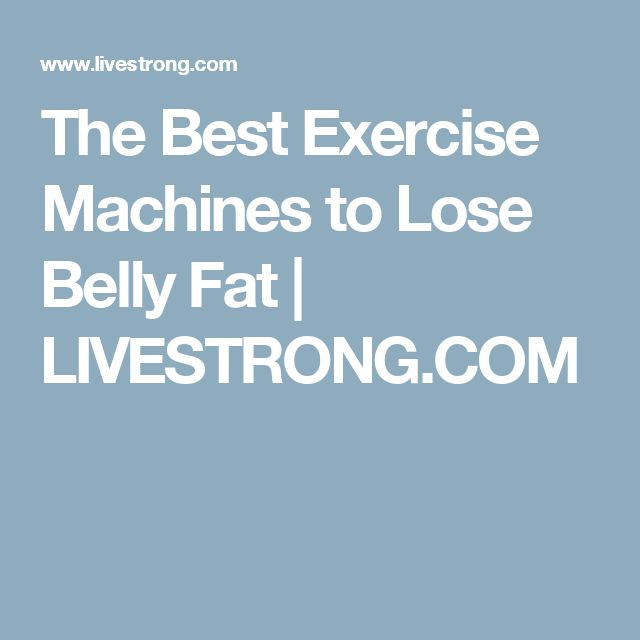 lose belly machine