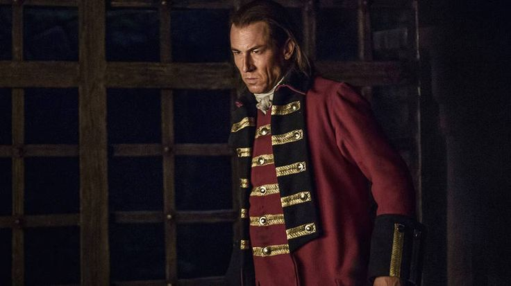 Outlander cast agrees: Black Jack is not gay. He's a sadist. Zap2it article