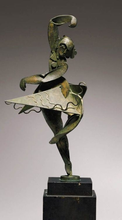 Bailarina Español Sculpture by Pablo Gargallo 1931