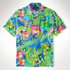 Floral-Print Camp Shirt - Polo Ralph Lauren Sale - RalphLauren.com