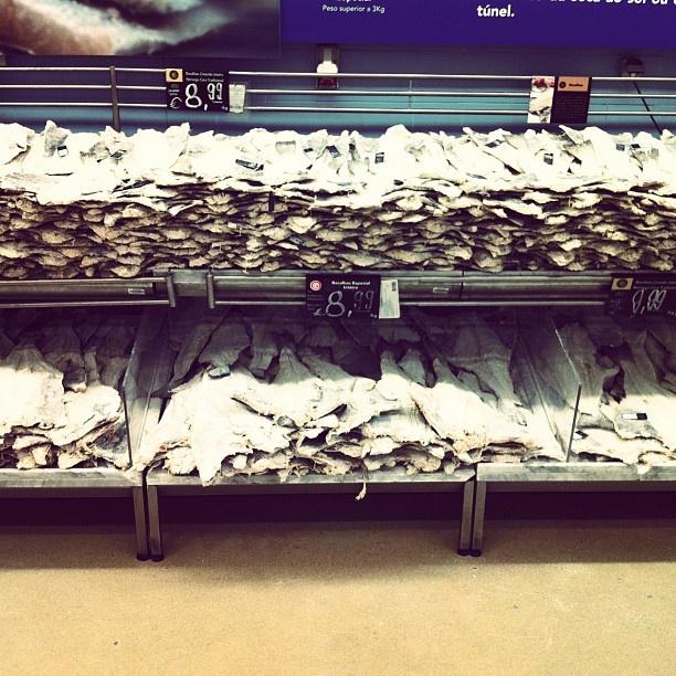 #Bacalhau #fish #stockfish #portugal #continente #supermarket