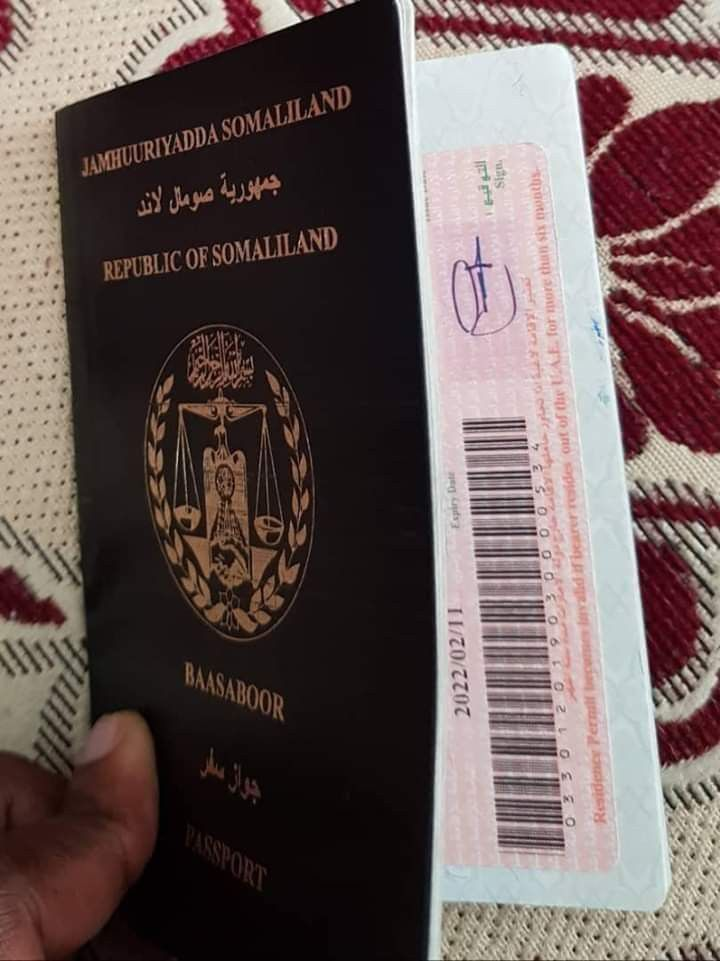 Somaliland Passport Book Cover Passport Republic