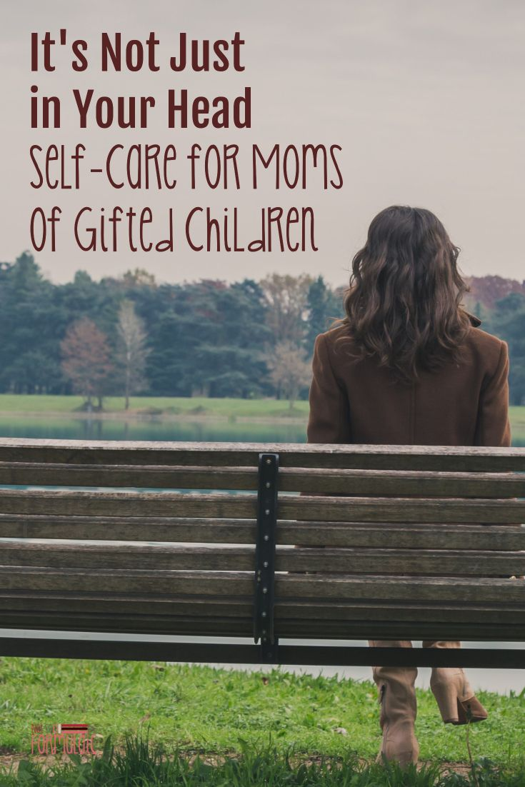 Parenting a gifted or Twice-Exceptional child is exhausting. Appropriate self-care for moms of gifted children is imperative. We can't give our children what we don't have.