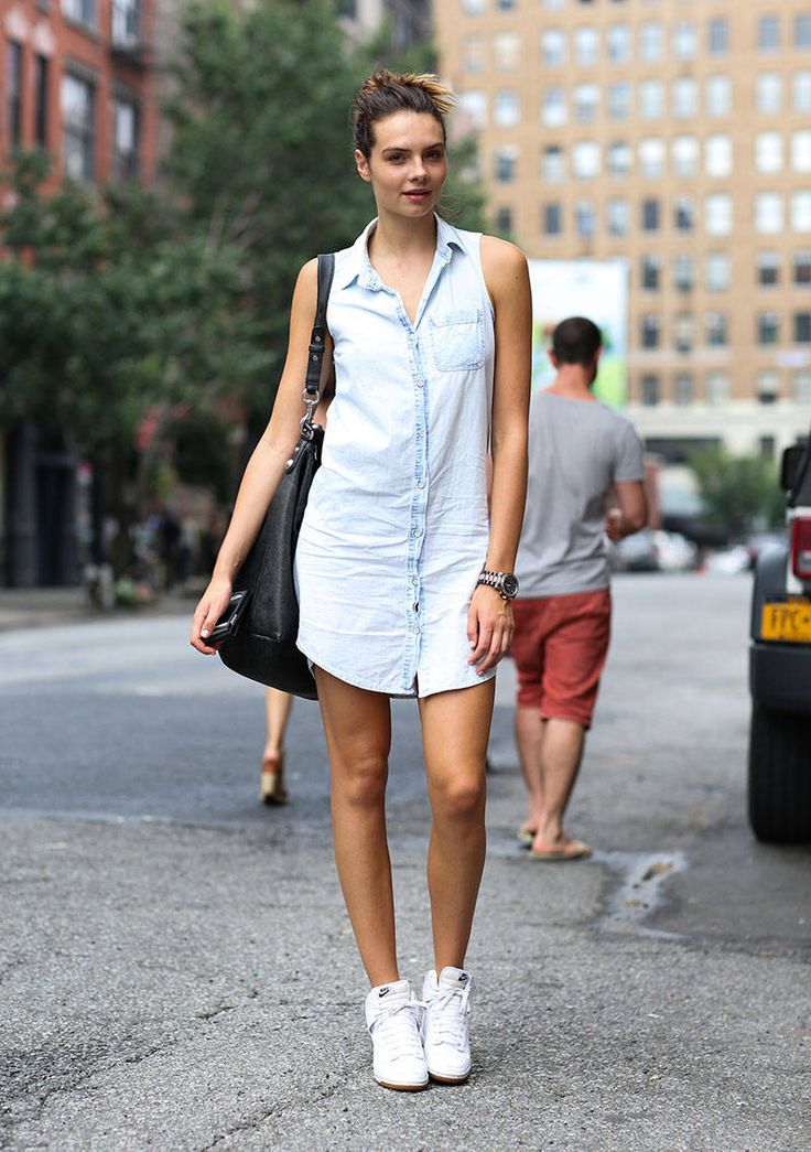 Vanessa Dress: Rag & Bone Shoes: Nike