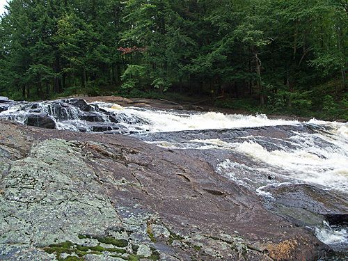 Basford Falls - Waterfalls of the Northeastern United States